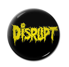 "Disrupt - Logo 1"" Pin"