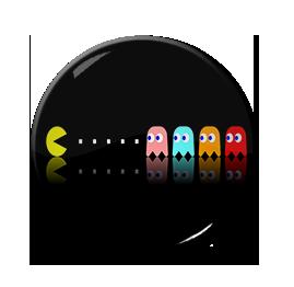 """Pac-Man 1.5"""" Pin"""