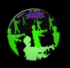 "8-Bit Zombie 1.5"" Pin"