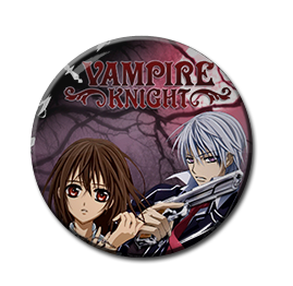 "Vampire Knight - Yuki Cross & Zero Kiryu 1.5"" Pin"