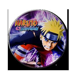 """Naruto Shippuden 1.5"""" Pin"""