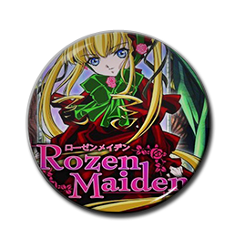 "Rozen Maiden - Shinku 1.5"" Pin"