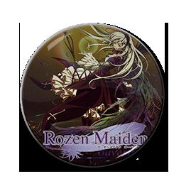 "Rozen Maiden - Suigintou 1.5"" Pin"