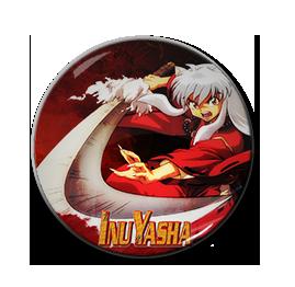"""Inuyasha 1.5"""" Pin"""