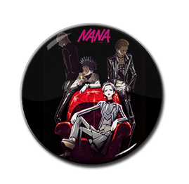 "Nana - Band 1.5"" Pin"