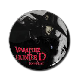 "Vampire Hunter D - Bloodlust 1.5"" Pin"