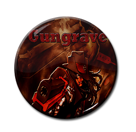 "Gungrave 1.5"" Pin"