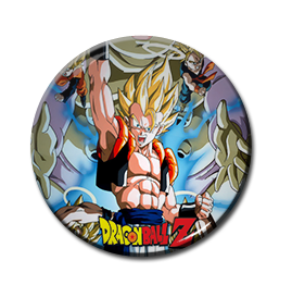 "Dragon Ball Z - Super Saiyan Goku 1.5"" Pin"