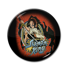 "Shaman King - Yoh Asakura 1.5"" Pin"