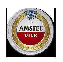"Amstel Bier 1.5"" Pin"