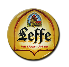 "Leffe Beer 1.5"" Pin"