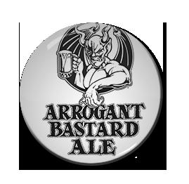 "Arrogant Bastard Ale 1.5"" Pin"