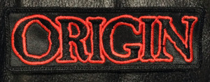 "Origin - Logo 5x1.5"" Embroidered Patch"