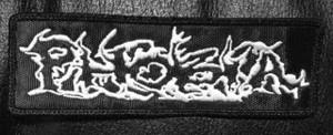 "Phobia - Logo 4x1.5"" Embroidered Patch"