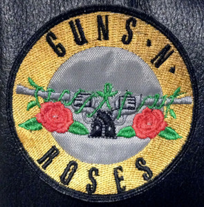 "Guns n Roses - Guns Logo 3x3"" Embroidered Patch"
