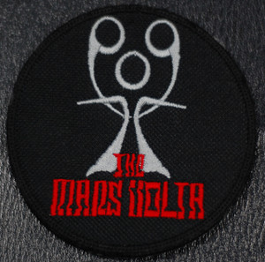 "Mars Volta 3x3"" Embroidered Patch"