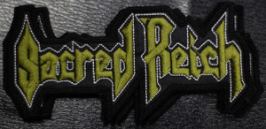 "Sacred Reich - Logo 5x2.5"" Embroidered Patch"