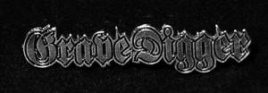 """Grave Digger - Logo 2"""" Metal Badge Pin"""
