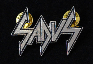"Sadus - Logo 2"" Metal Badge Pin"