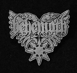 "Behemoth - Star Logo 2"" Metal Badge Pin"
