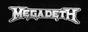 "Megadeth - Logo 2"" Metal Badge Pin"