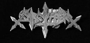 "Sarcofago - Logo 2"" Metal Badge Pin"
