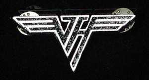 """Van Halen - Logo 2"""" Metal Badge Pin"""