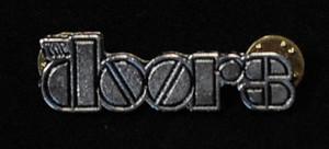 "The Doors - Logo 2"" Metal Badge Pin"