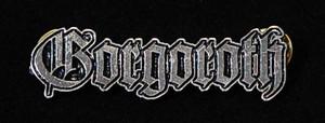 """Gorgoroth - Logo 2"""" Metal Badge Pin"""