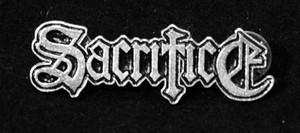 """Sacrifice - Logo 2"""" Metal Badge Pin"""