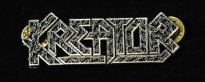 """Kreator - Logo 2"""" Metal Badge Pin"""