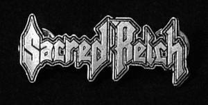 """Sacred Reich - Logo 2"""" Metal Badge Pin"""