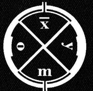 "Clan of Xymox - Circle Logo 5x5"" Printed Patch"