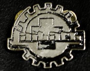 """Laibach - Logo 2"""" Metal Badge Pin"""