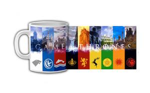 Game of Thrones - Crests Coffee Mug