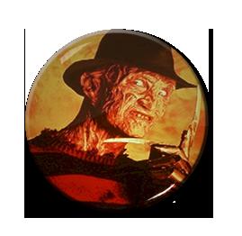 """Freddy Krueger - Fire 1.5"""" Pin"""