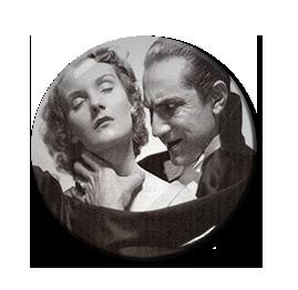 """Dracula and Mina 1.5"""" Pin"""