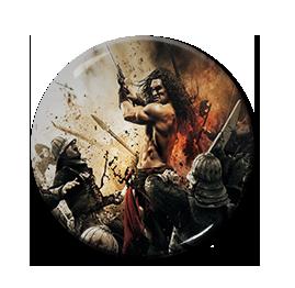 """Conan the Barbarian 1.5"""" Pin"""