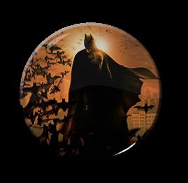 """Batman - Bats 1.5"""" Pin"""