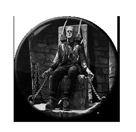 """Frankenstein - Chains 1.5"""" Pin"""