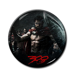 "300 - Leonidas 1.5"" Pin"