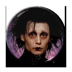 "Edward Scissorhands - Face 1.5"" Pin"