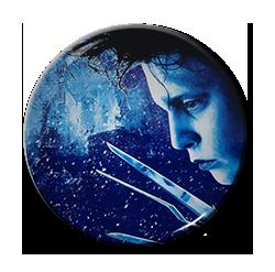"Edward Scissorhands - Poster 1.5"" Pin"