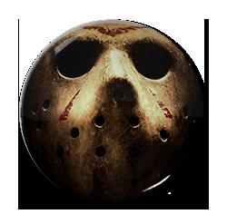 "Friday 13th - Jason Voorhees - Mask 1.5"" Pin"