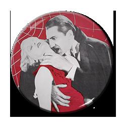 "Dracula and Mina in Color 1.5"" Pin"