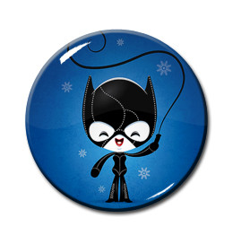 """Catwoman 1.5"""" Pin"""