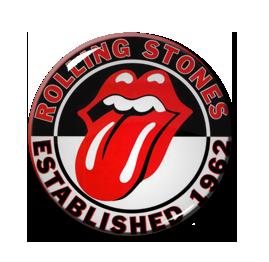 """Rolling Stones - Est. 1962 1.5"""" Pin"""