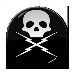 "Death Proof Logo 1.5"" Pin"