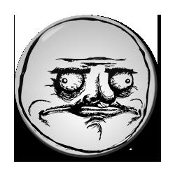 "Me Gusta 1.5"" Pin"