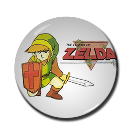 "Legend of Zelda 1.5"" Pin"